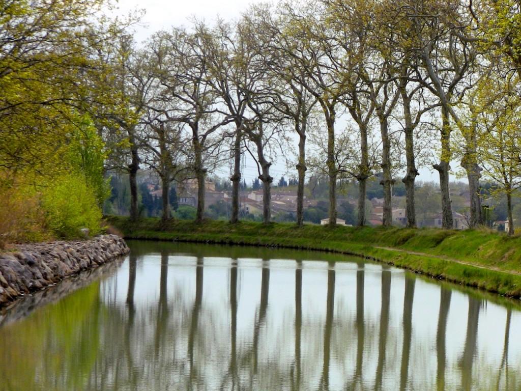 Canal de Midi en Capestang
