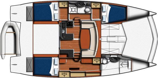 Moorings 394 PC Power Catamaran