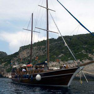 Croacia-Alquiler-Goleta-vacaciones-goletas-familia