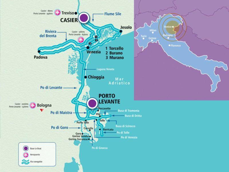 Alquiler-barco-yate-motor-velero-catamaran-turismo-vacaciones-Venecia-navegacion-fluvial