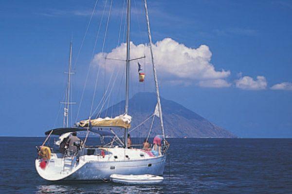 veleros en Islas Eólicas