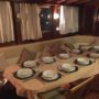 Dinner inside