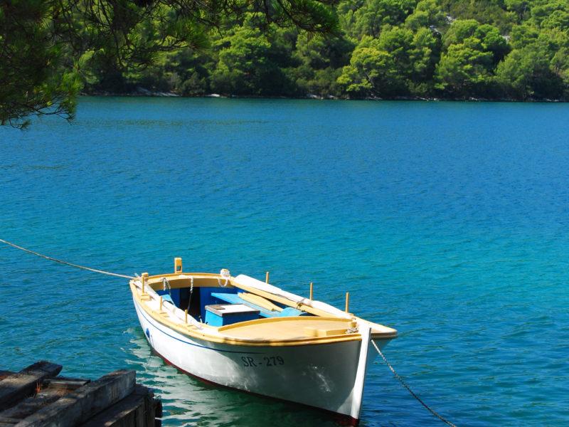 Mljet. Alquiler veleros Croacia