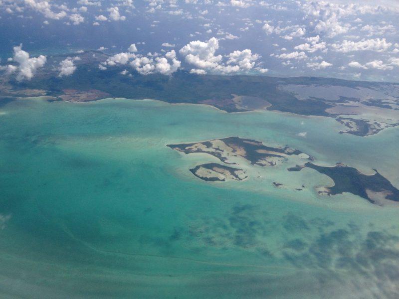 Belize desde el aire
