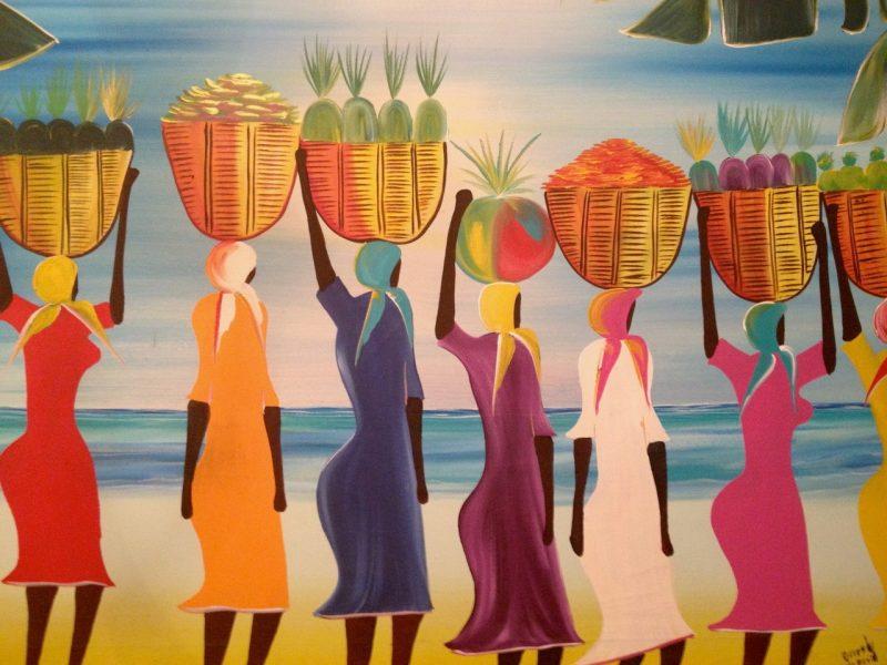 Dibujo señoras Belize